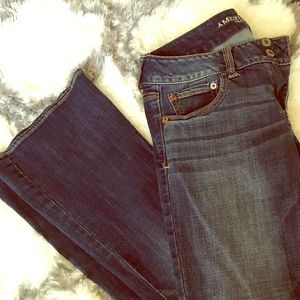 Low Rise Artist Flare Jean by American Eagle